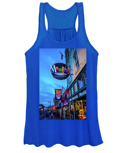 Memphis Soul Women's Tank Top