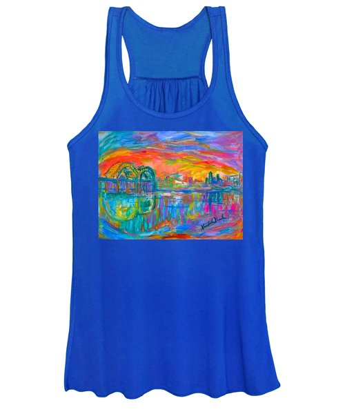 Memphis Spin Women's Tank Top