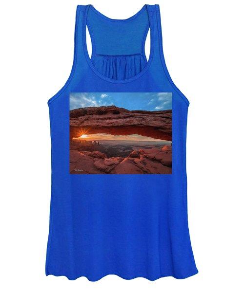Mesa Arch At Sunrise 3, Canyonlands National Park, Utah Women's Tank Top