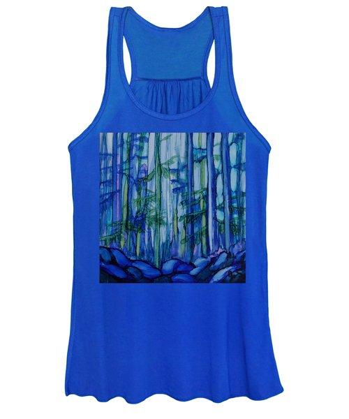 Moonlit Forest Women's Tank Top