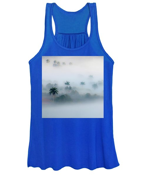 Morning Fog, Vinales Valley Women's Tank Top