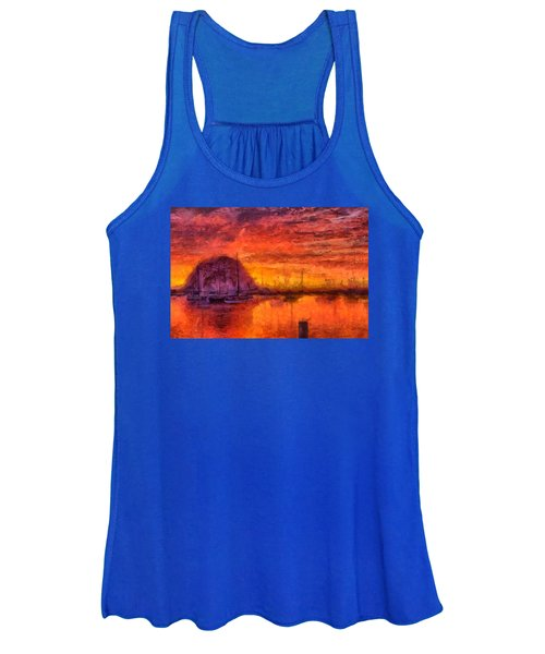 Morro Bay Marina Women's Tank Top
