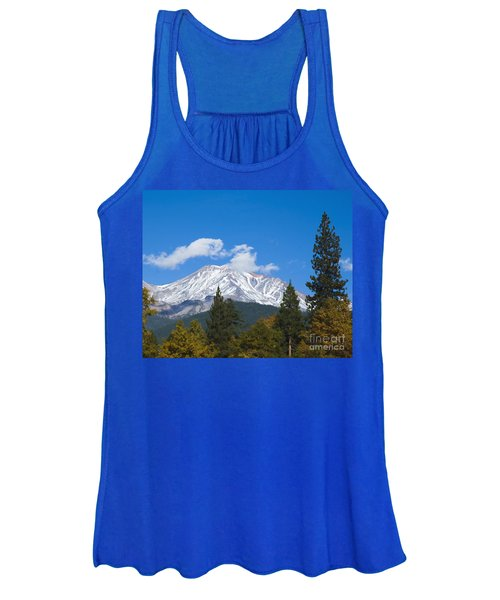 Mount Shasta California Women's Tank Top