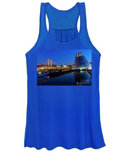 Museum Of Glass At Blue Hour Women's Tank Top