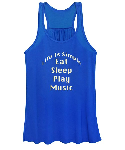 Music Eat Sleep Play Music 5507.02 Women's Tank Top