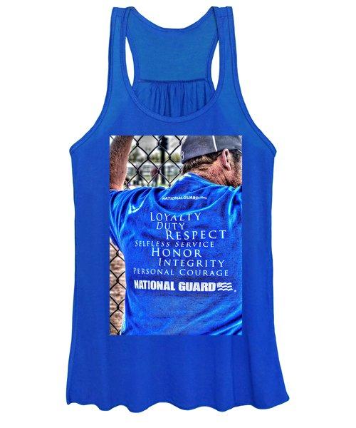 National Guard Shirt 21 Women's Tank Top