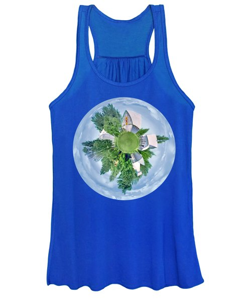 Nebraska Farm - Transparent Women's Tank Top
