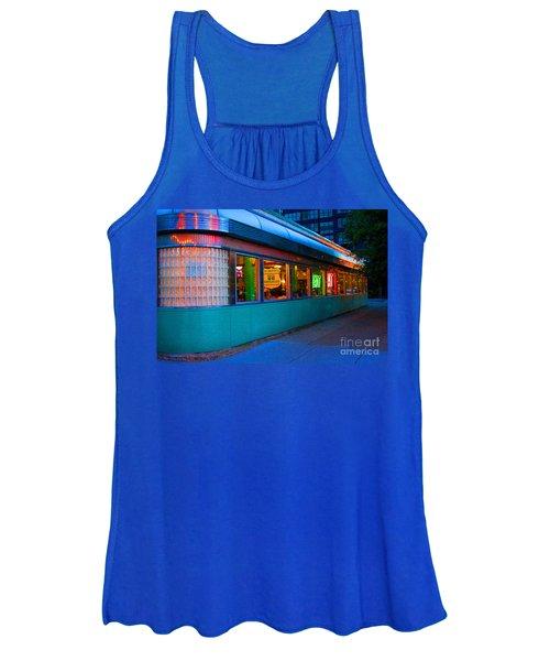 Neon Diner Women's Tank Top