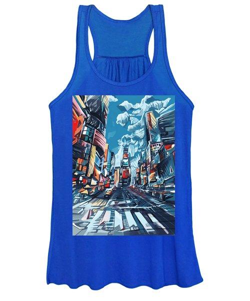 New York City-times Square Women's Tank Top