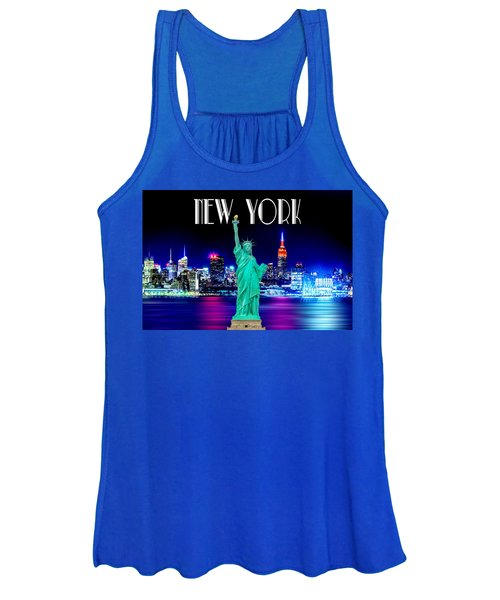 New York Shines Women's Tank Top