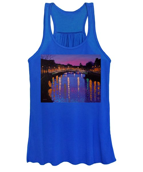 Nighttown Ha Penny Bridge Dublin Women's Tank Top