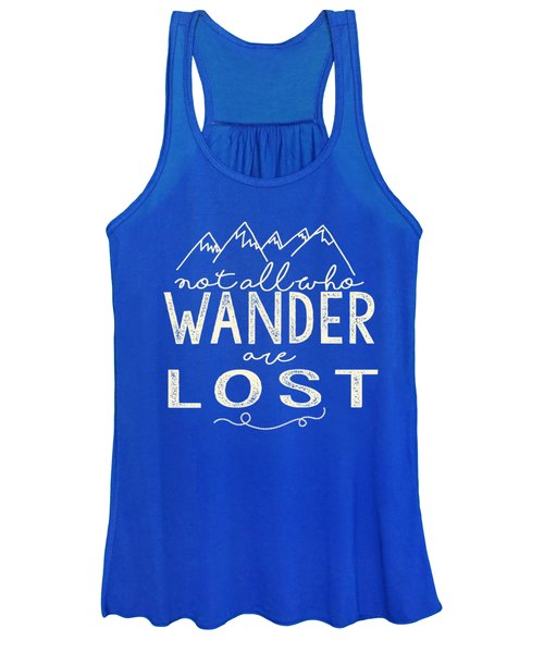 Not All Who Wander Women's Tank Top