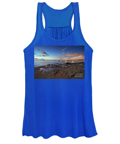 Ocean Beach Pier At Sunset, San Diego, California Women's Tank Top