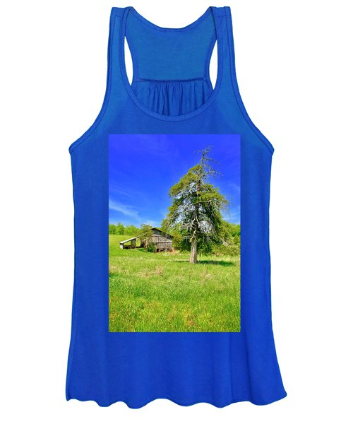 Old Barn, Smith Mountain Lake Women's Tank Top