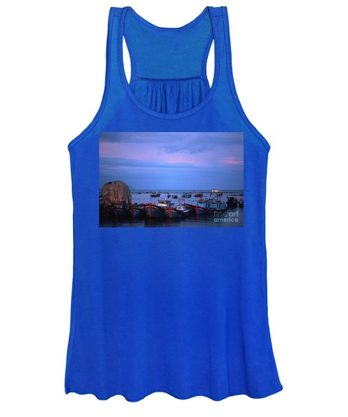 Old Port Of Nha Trang In Vietnam Women's Tank Top