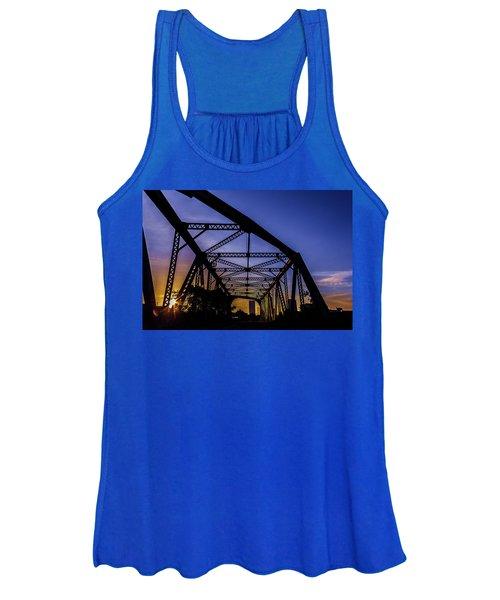 Old Steel Bridge Women's Tank Top