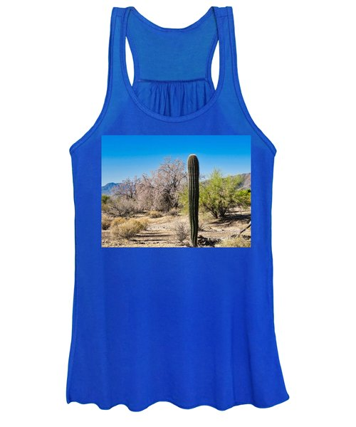 On The Ironwood Trail Women's Tank Top