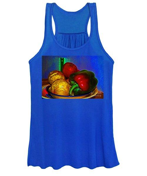 Onions Apples Pepper Women's Tank Top