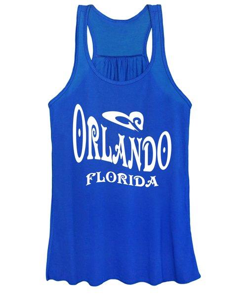 Orlando Florida Design Women's Tank Top