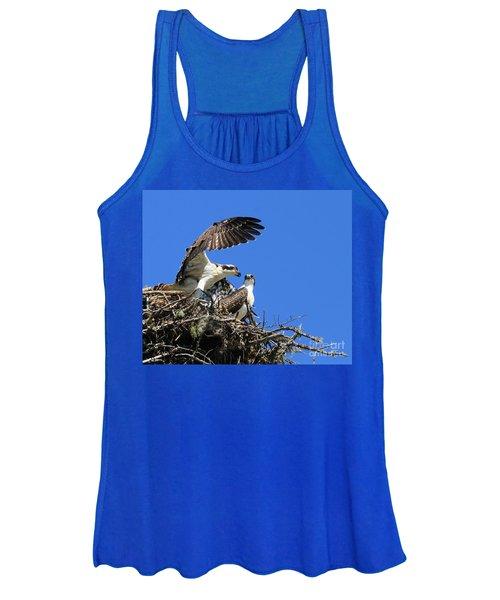 Osprey Chicks Ready To Fledge Women's Tank Top