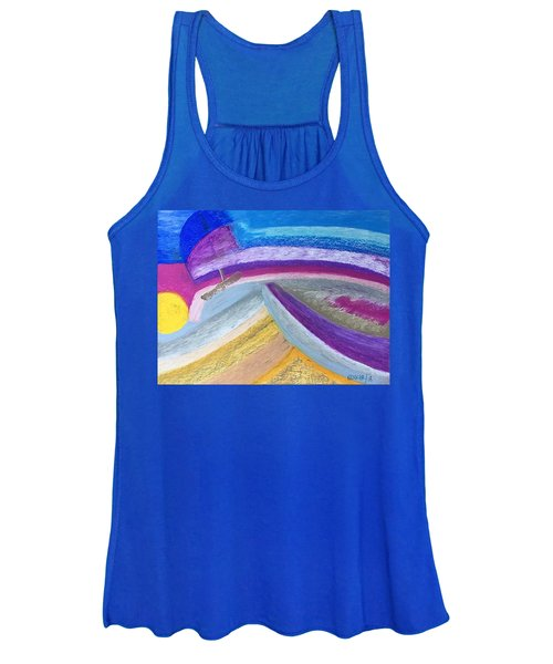 Over The Waves Women's Tank Top