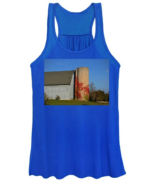 Painted Silo Women's Tank Top
