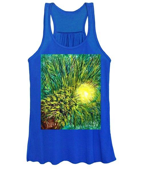 Palm Sunburst  Women's Tank Top