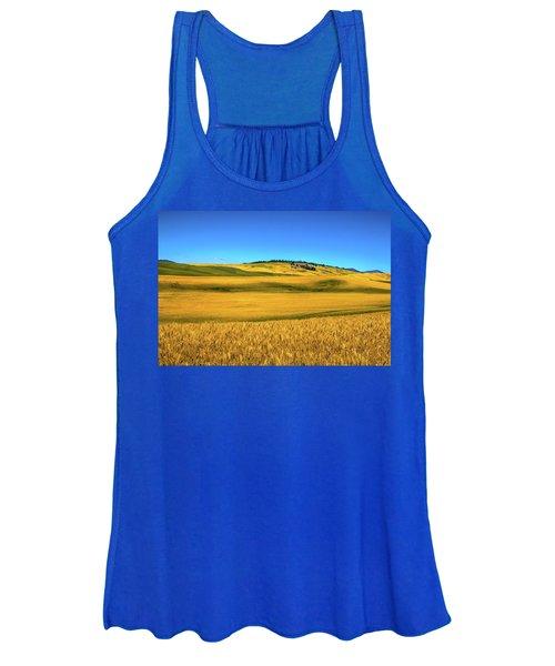 Palouse Wheat Field Women's Tank Top
