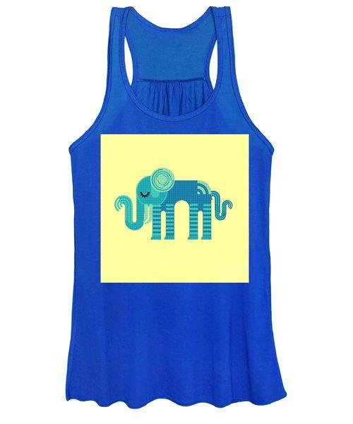 Pattern Elephant Women's Tank Top