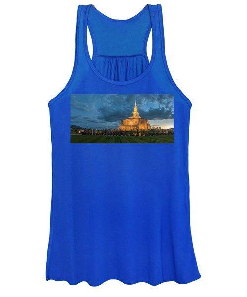 Payson Temple Panorama Women's Tank Top