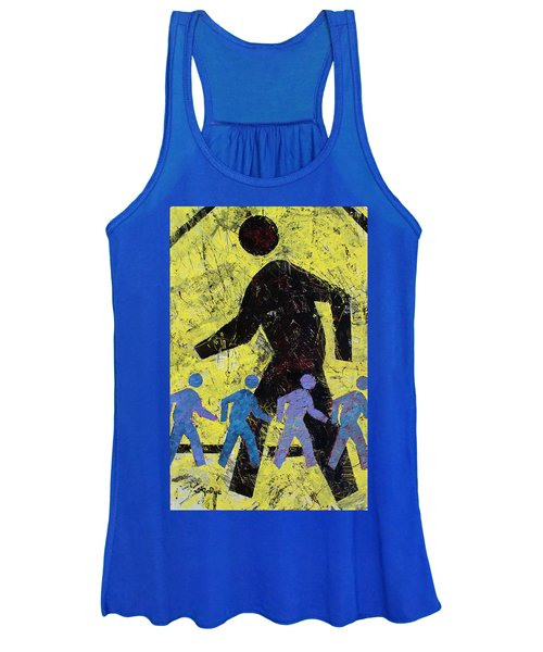Pedestrian Crossing Women's Tank Top