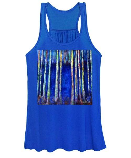 Peeking Through The Trees Women's Tank Top