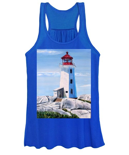 Peggy's Cove Lighthouse Women's Tank Top