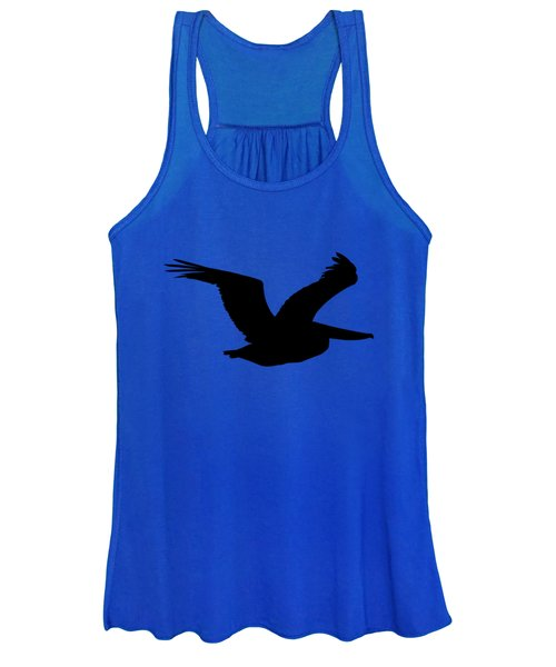 Pelican Profile .png Women's Tank Top