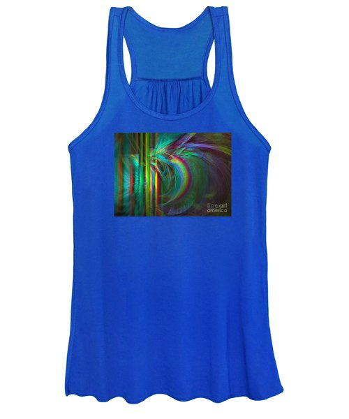 Penetrated By Life - Abstract Art Women's Tank Top