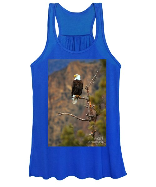 Perched At Smith Rock Women's Tank Top