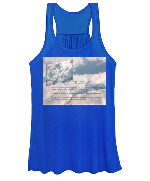 Perfect Clouds Women's Tank Top