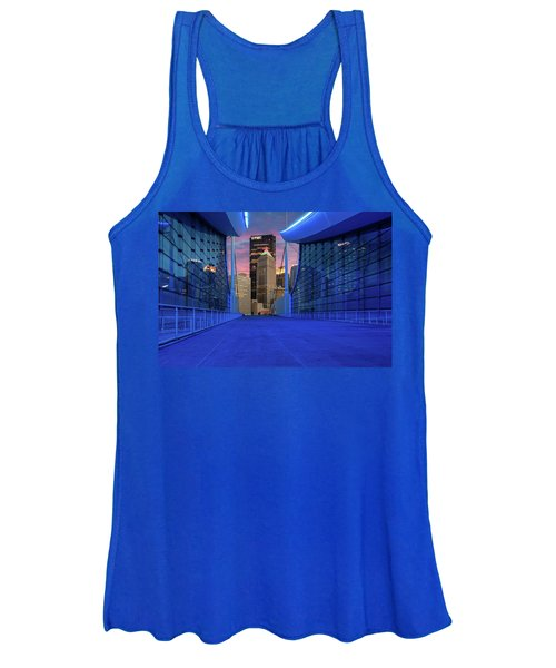 Pittsburgh In Blue  Women's Tank Top