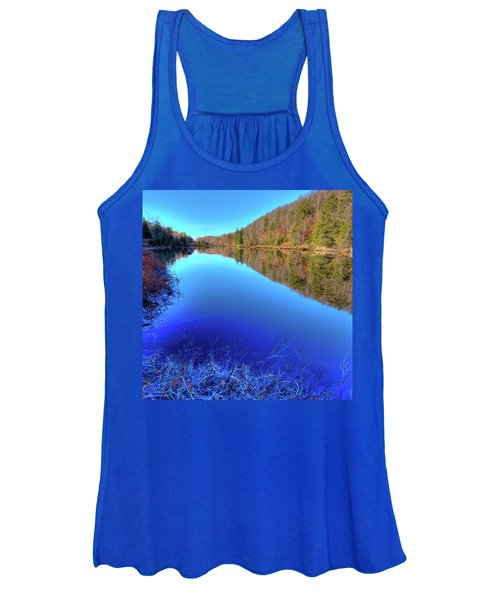 Pond Reflections Women's Tank Top