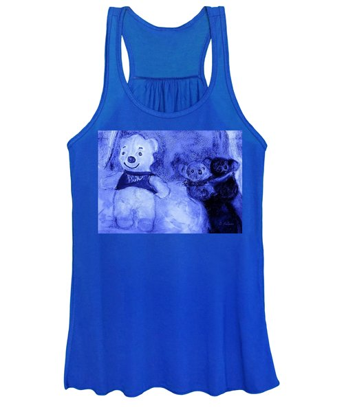 Pooh Bear And Friends Women's Tank Top