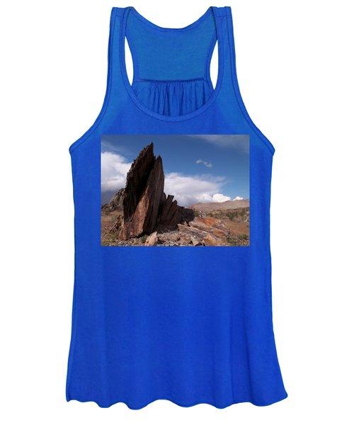 Prayer Rocks - Route 66 Women's Tank Top