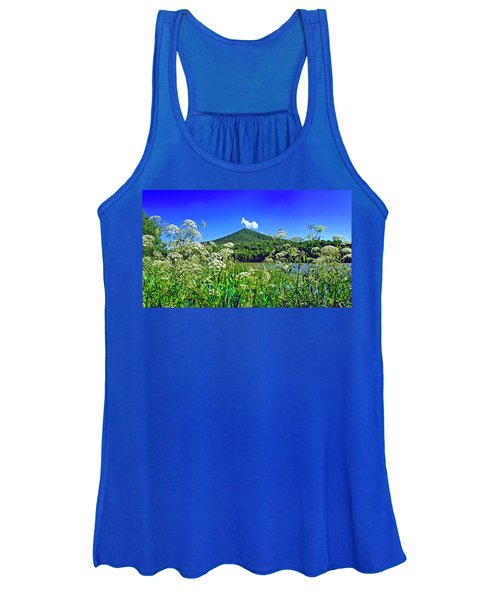 Queen Anne's Lace, Peaks Of Otter  Women's Tank Top