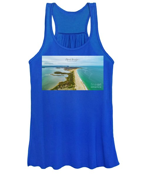 Quonochontaug Beach Women's Tank Top