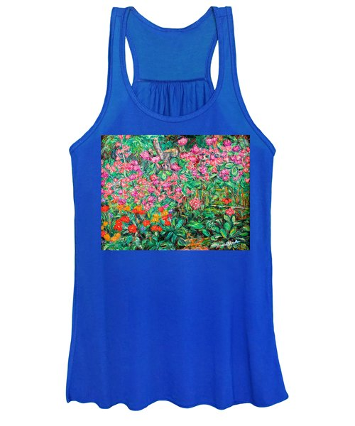 Radford Flower Garden Women's Tank Top