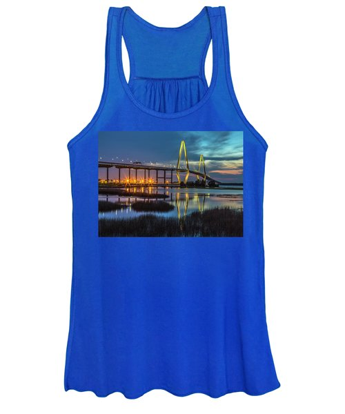 Ravenel Bridge Reflection Women's Tank Top