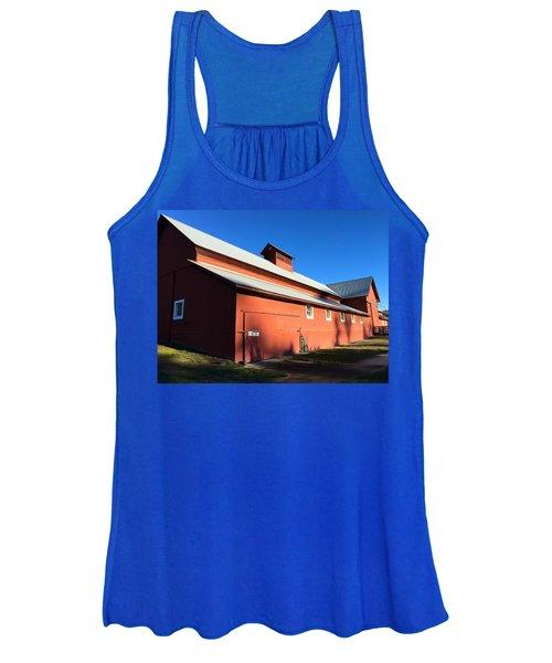 Red Barn, Blue Sky Women's Tank Top