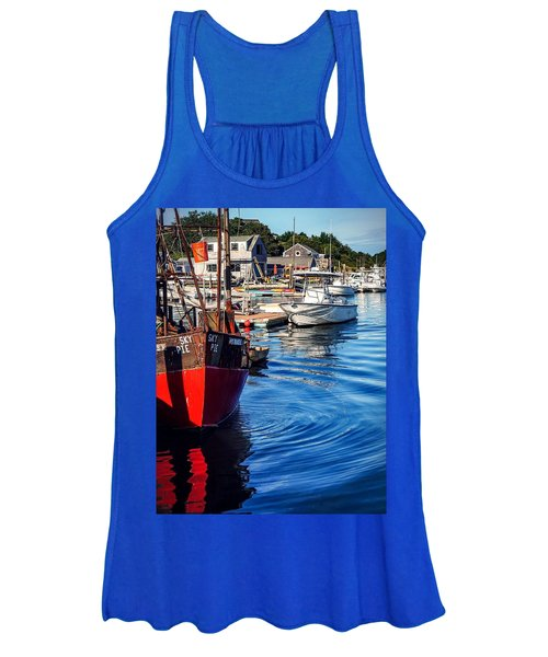 Red White Blue Women's Tank Top