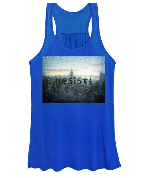 Resistance Foggy Window Women's Tank Top