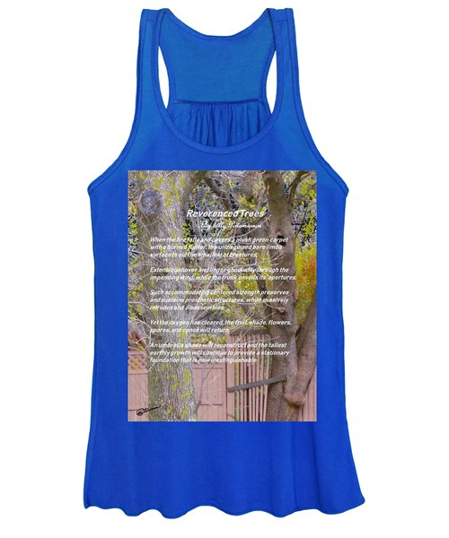 Reverence Of Trees Women's Tank Top