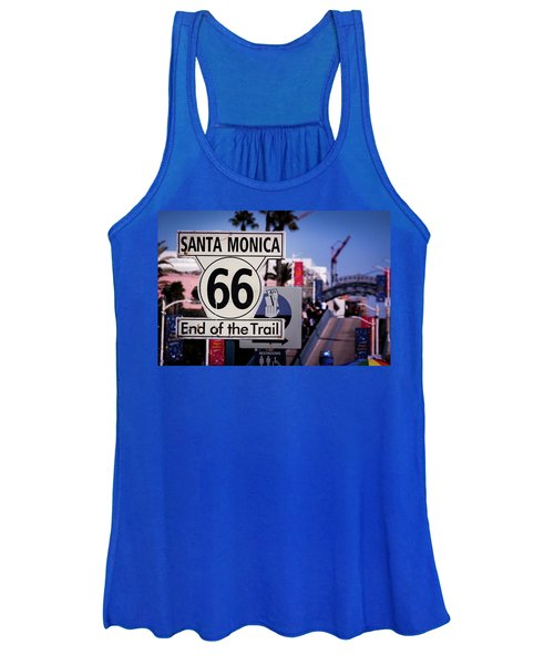 Route 66 End Of Trail Women's Tank Top